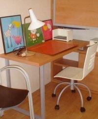 Dormitorio infantil: El rincón de estudio