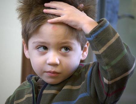 Qué hacer si el niño se da un golpe fuerte en la cabeza