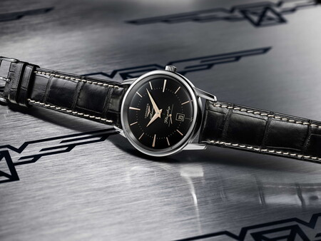Longines revive un diseño de los años cincuenta con su nuevo reloj Flagship Heritage