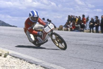Viçenc Abad Ricardo Tormo y la Bultaco 50 en 1979