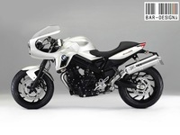 BMW F800CR by Luca Bar, la F800 Café Racer