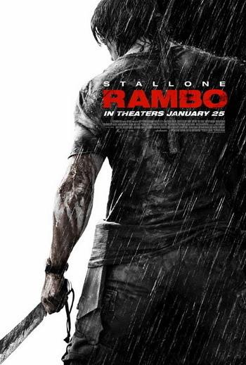 Póster de 'John Rambo' y posible 'Rambo V'
