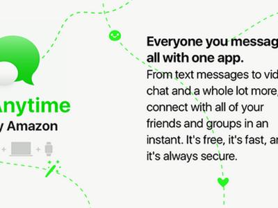 Todos quieren su propia aplicación de mensajería: Amazon trabaja en Anytime