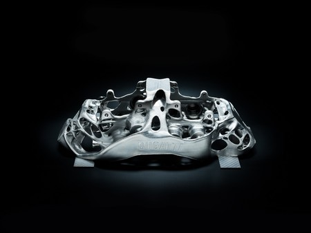 Calipers Titanio Bugatti Chiron 1