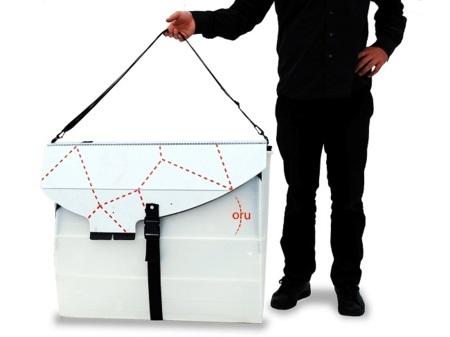 Oru, el kayak origami