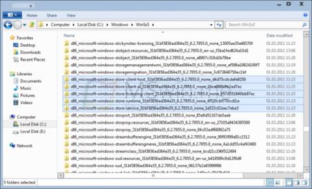 Rumor: aparecieron evidencias algo más claras de la tienda de aplicaciones de Windows 8