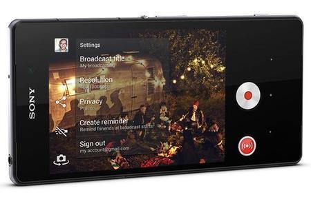 Live on YouTube, transmite vídeos en vivo con tu Xperia Z2