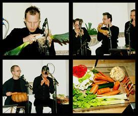 Una orquesta de vegetales