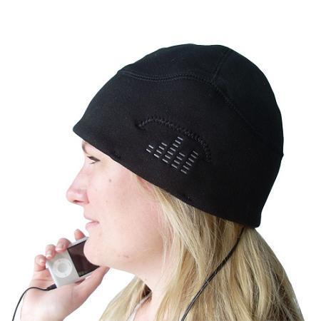 iHat, gorra para escuchar música