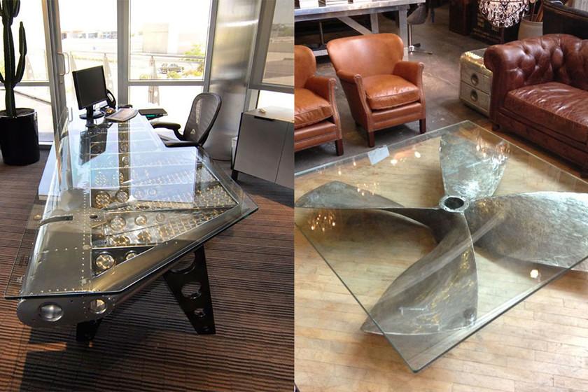 17 muebles de estilo industrial fabricados con viejas for Muebles de efecto industrial