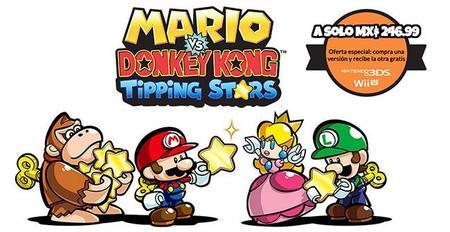 Mario Vs Donkey Kong Tipping Stars Da A Conocer Su Peso, Precio