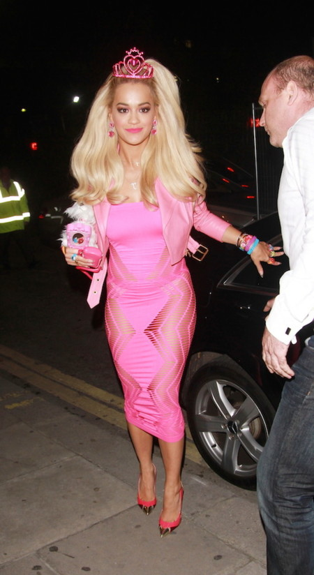 Rita Ora Halloween 2014