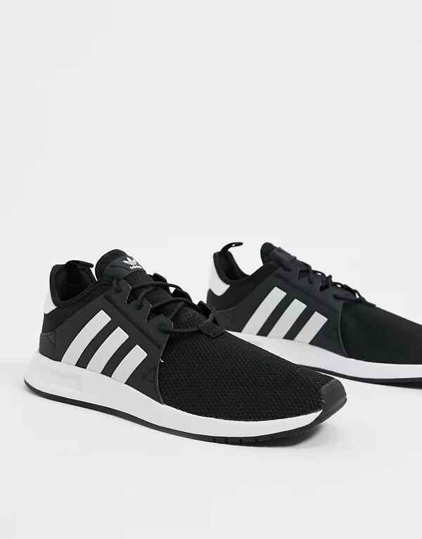 Zapatillas en blanco y negro core X_PLR de adidas Originals