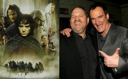 Cuando Harvey Weinstein amenazó con contratar a Tarantino para dirigir 'El señor de los anillos'