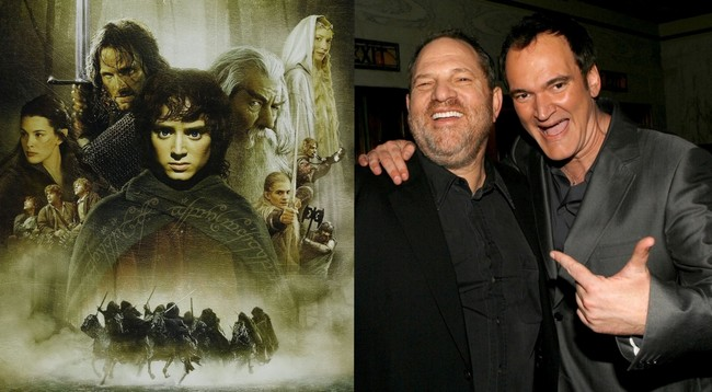 Lord Of The Rings, Tarantino and Weinstein