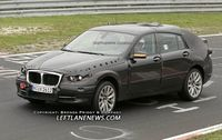 BMW está probando en Nürburgring otro de sus juguetes, el PAS
