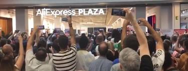 Por qué creamos muchedumbres como la de la inauguración de la tienda de Aliexpress según la sociología