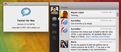 Twitter for Mac Beta, ¿la futura nueva versión de Tweetie?