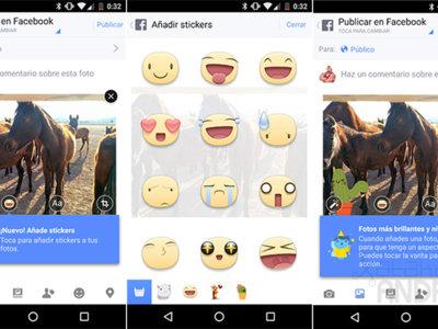 Facebook para Android estrena un editor de fotos