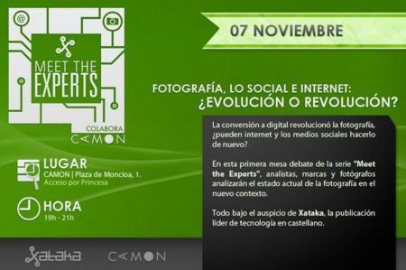 Hoy toca Meet The Experts sobre el futuro de la fotografía, síguelo con nosotros #MTEfoto (finalizado)