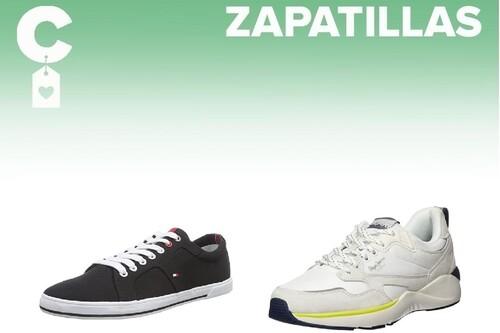 Chollos en tallas sueltas de zapatillas Tommy Hilfiger, Pepe Jeans o Diesel en Amazon