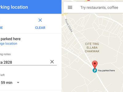 Google Maps Beta: Así puedes guardar donde has aparcado el coche manualmente