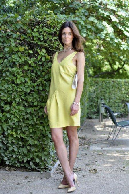 Vestido amarillo Hedvig