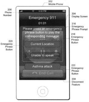 Apple patenta un modo de emergencia para el iPhone