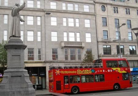 Recorrer Dublín en el bus City Sightseeing