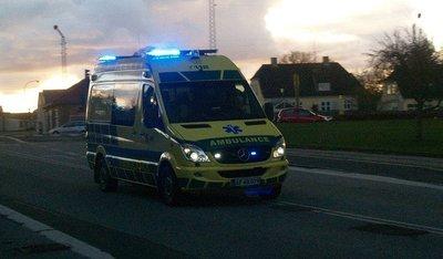 Una de luminosos para ambulancias y bomberos, atención a las víctimas y gasolineras a la vista
