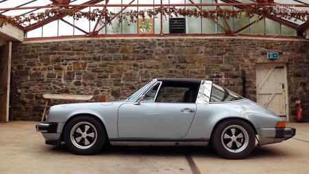 ¿Sacrilegio o genialidad? Este Porsche 911 Targa de 1979 ahora es eléctrico