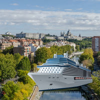 Analizamos seriamente las posibilidades de que Madrid sea un puerto de cruceros a 300 kilómetros del mar