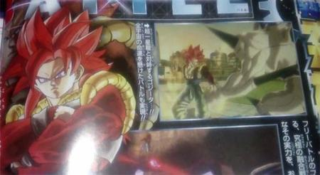 Dragon Ball Xenoverse confirma a Gogeta Super Saiyajin 4 y nos muestra al villano del juego