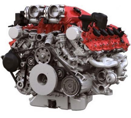 Motor V8 Ferrari California T
