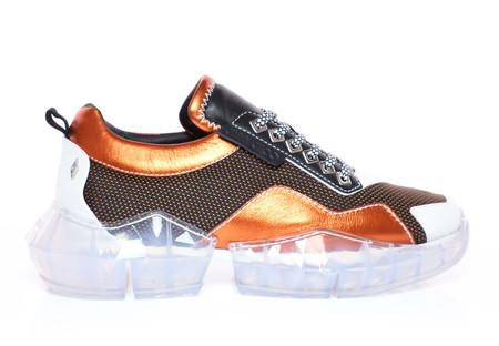Futurismo A Todo Lujo Jimmy Choo Y Sus Sneakers Diamante Ponen El Detalle Glam En Nuestros Looks 2