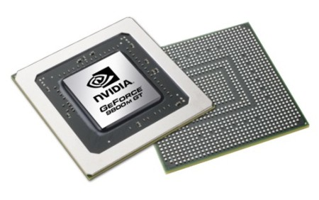 NVidia GeForce 9800M GT