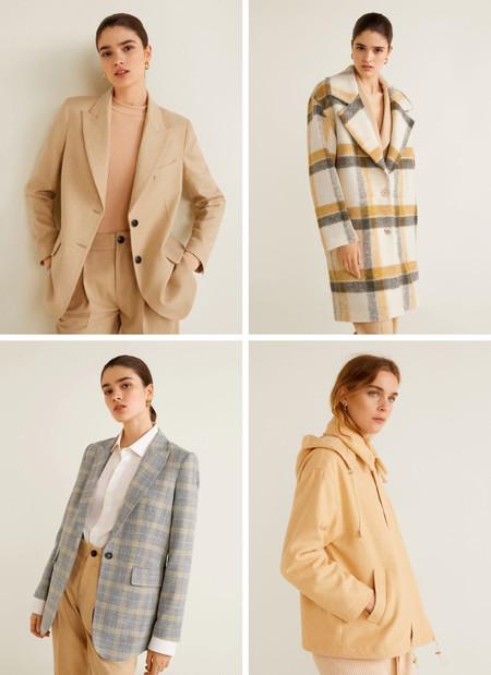 abrigos mango nuevos