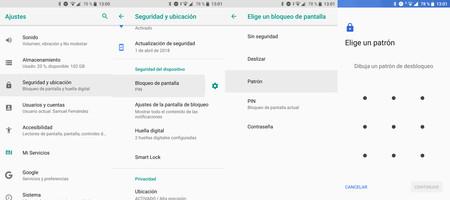 Cómo configurar el patrón de desbloqueo en Android