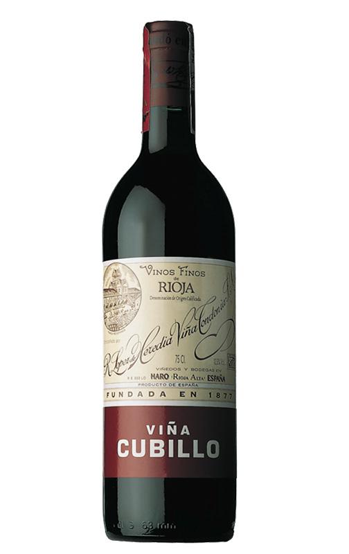 Viña Cubillo Crianza 2012. DOCa Rioja