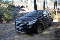 Peugeot 3008 HYbrid4, prueba (conducción y dinámica)
