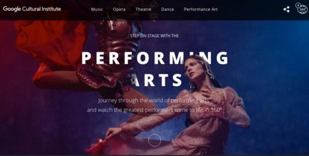 Performing Arts de Google reúne lo mejor de la ópera, el teatro y la realidad virtual
