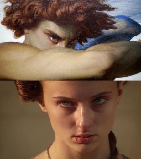 Sansa Stark en las primeras temporadas de 'Juego de Tronos' estuvo inspirada en obras del siglo XIX