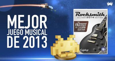 Mejor juego musical de 2013 según los lectores de VidaExtra: Rocksmith 2014 Edition