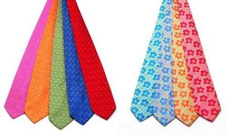 Corbatas de Agatha Ruiz de la Prada