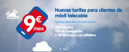 telecable se apunta a las tarifas para líneas móviles adicionales con condiciones interesantes