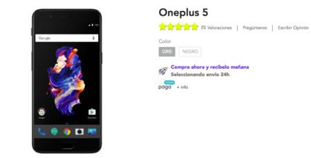 OnePlus 5 en PowerPlanet