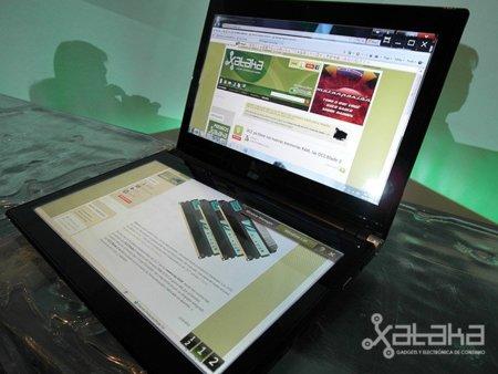 Acer Iconia, primeras impresiones del nuevo portátil-tablet con doble pantalla