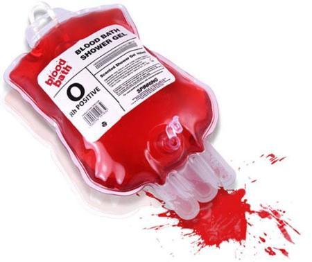 ¿Gel de baño o bolsa de transfusión?