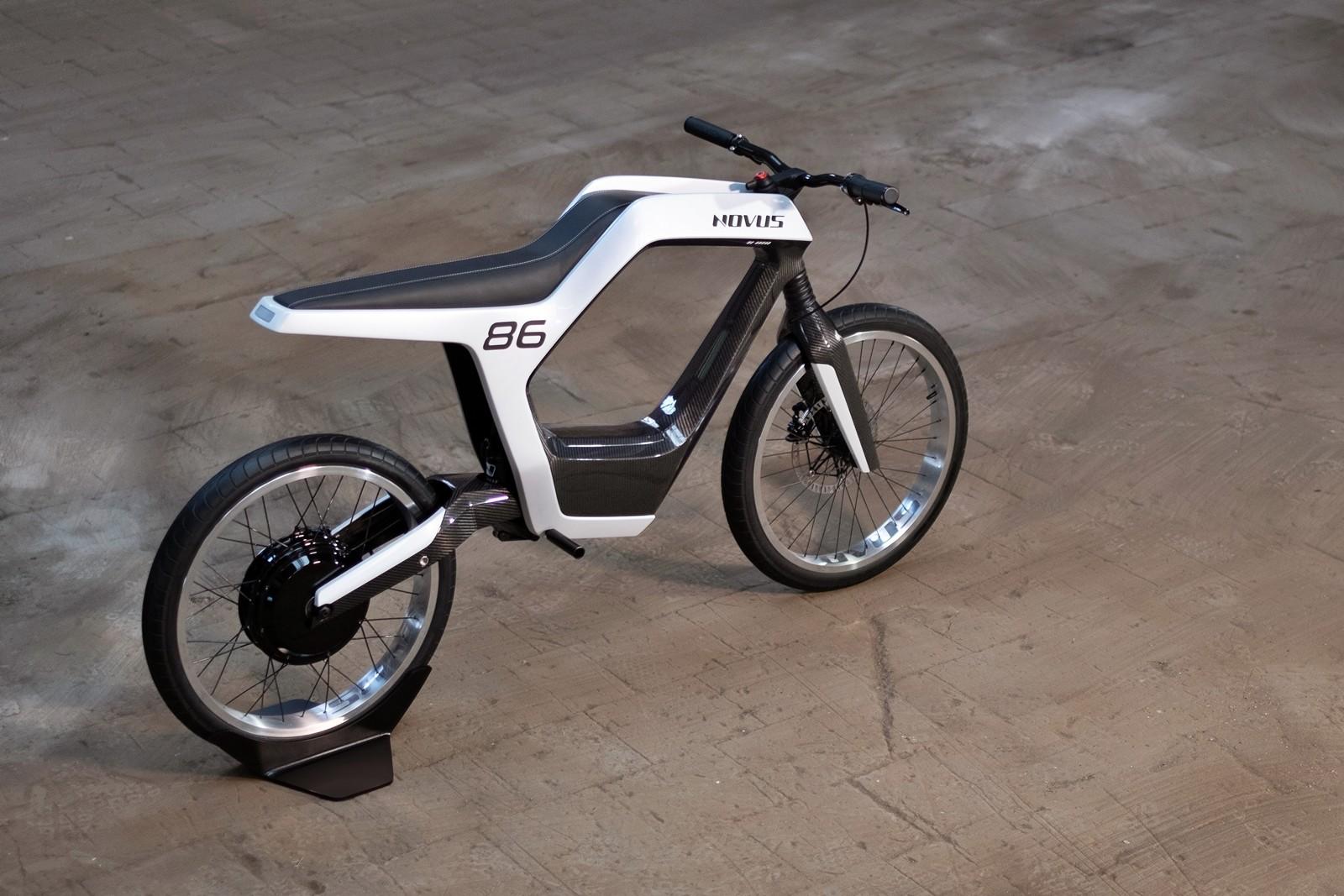 Foto de Novus moto eléctrica (4/7)