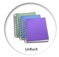 UnRarX para descomprimir archivos